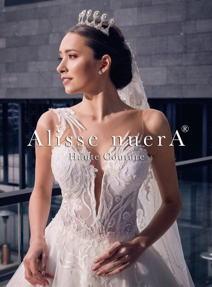 Alisse nuerA with wedding dresses with different and unique designs
